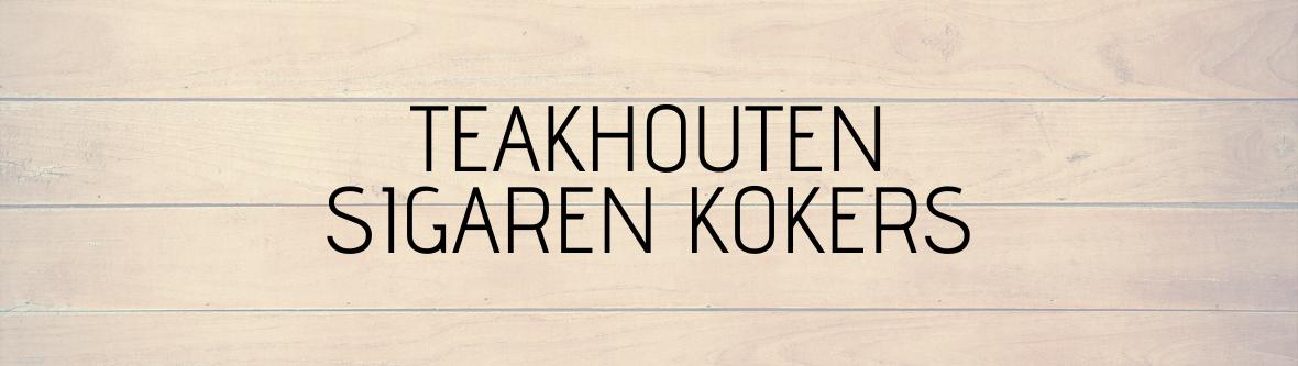 Teakhouten Kokers
