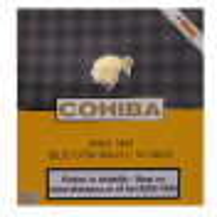 Cohiba Linea 1492 Selección Siglo I - VI Tubos met 6 sigaren
