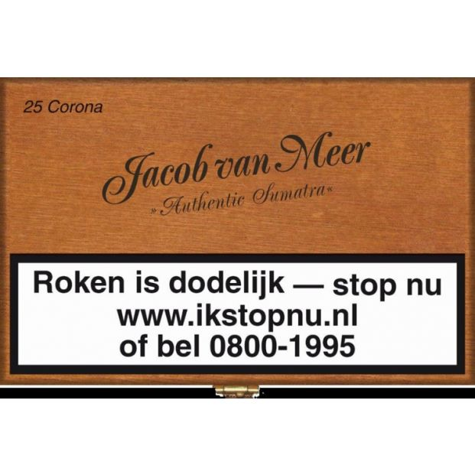 Jacob van Meer Corona 25 Sigaren