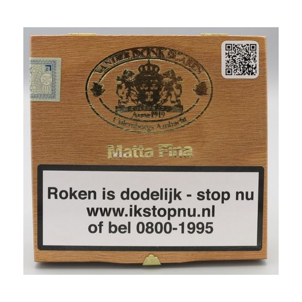 Van der Donk Matta Fina 25 Sigaren