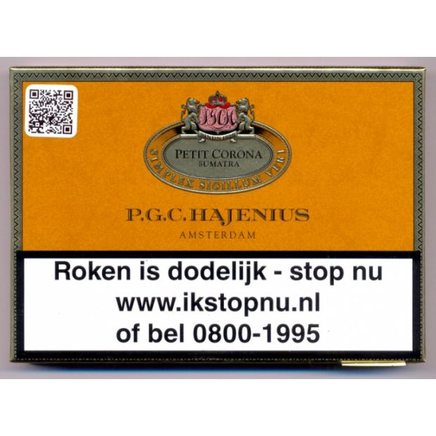 Hajenius Petit Corona 10 Sigaren