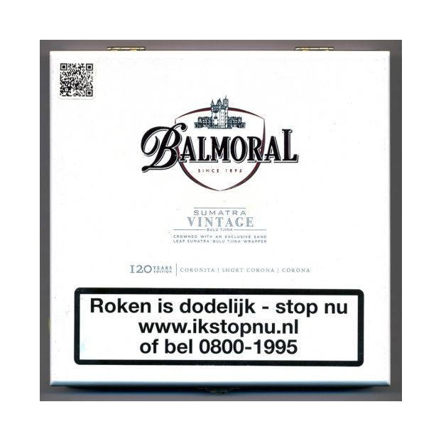 Balmoral Vintage Sumatra Collection 12 sigaren
