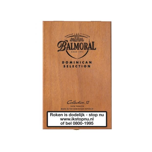 Balmoral Dominican Selection Collection 12 Sigaren