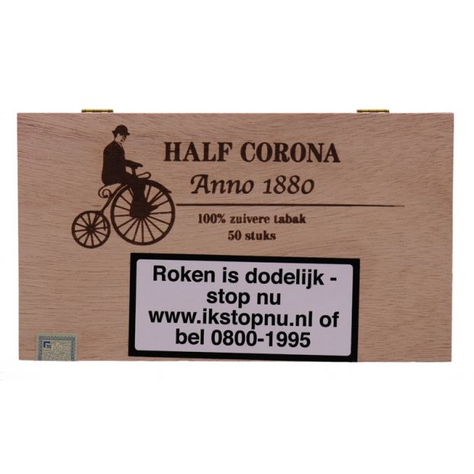 Anno 1880 Half Corona 50 sigaren