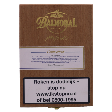 Balmoral Añejo XO Connecticut Gran Toro per sigaar