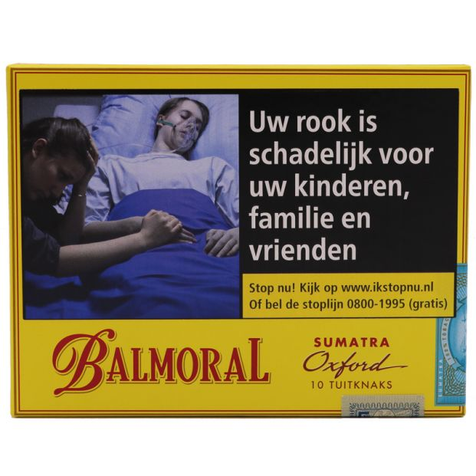 Balmoral Sumatra Selection Oxford 10 sigaren