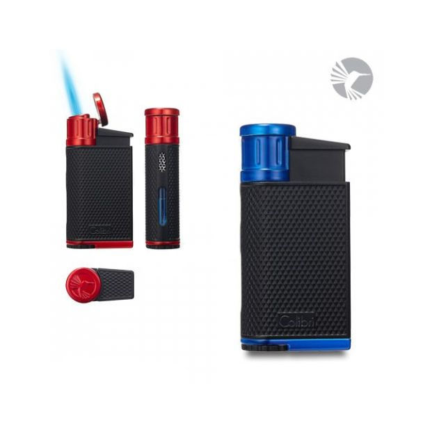 Colibri Evo jet-flame aansteker Black Blue