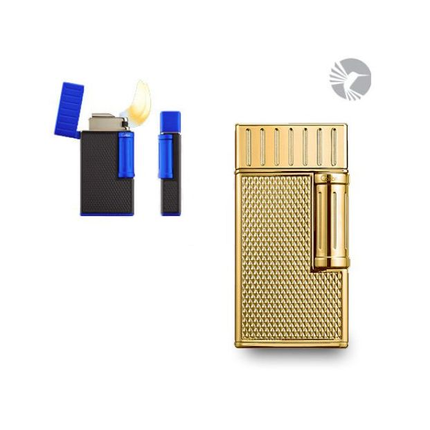 Colibri Julius Double Flame Gold Brushed