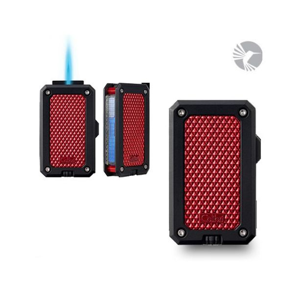 Colibri Rally jet-flame aansteker Black Red