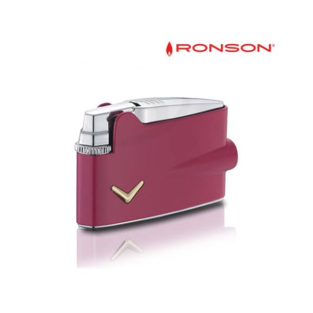 Ronson Mini Varaflame Pink lacquer
